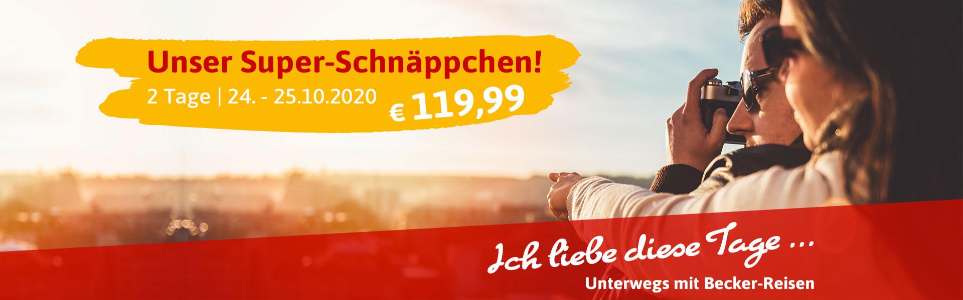 Becker Reise - Superschnäppchen 2020